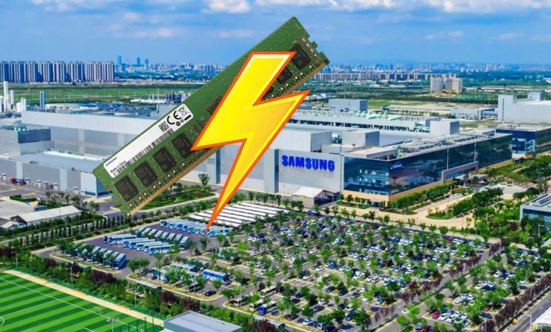 Photo of Samsung daña millones de dólares en memoria por un corte de energía