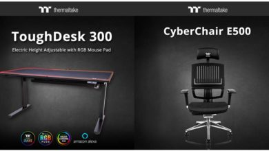 Photo of Thermaltake ToughDesk 300: La nueva mesa regulable de la marca