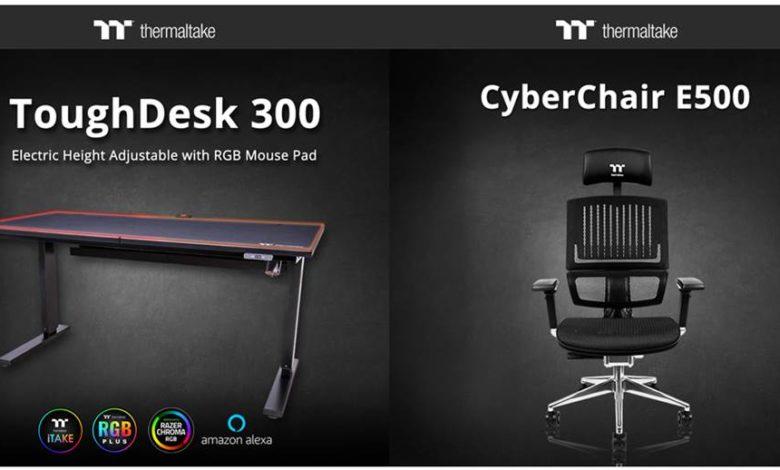 Photo of Thermaltake ToughDesk 300: La nueva mesa regulable de la marca