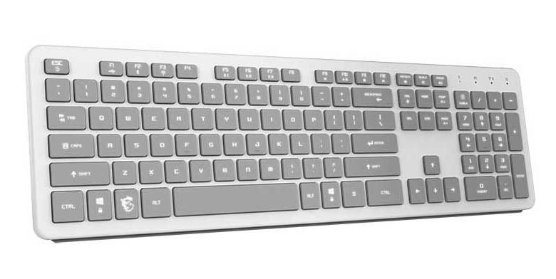 Photo of MSI Creation CK40: teclado inalámbrico low profile para creadores