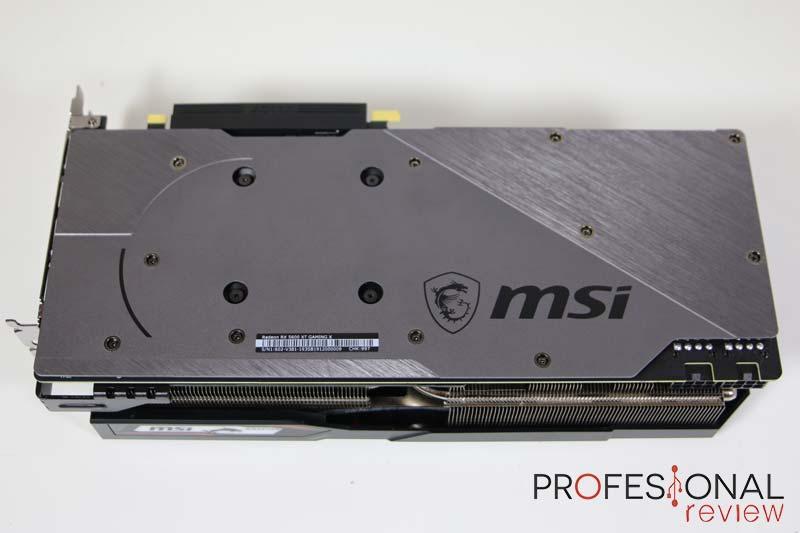 MSI RX 5600 XT Gaming X Backplate