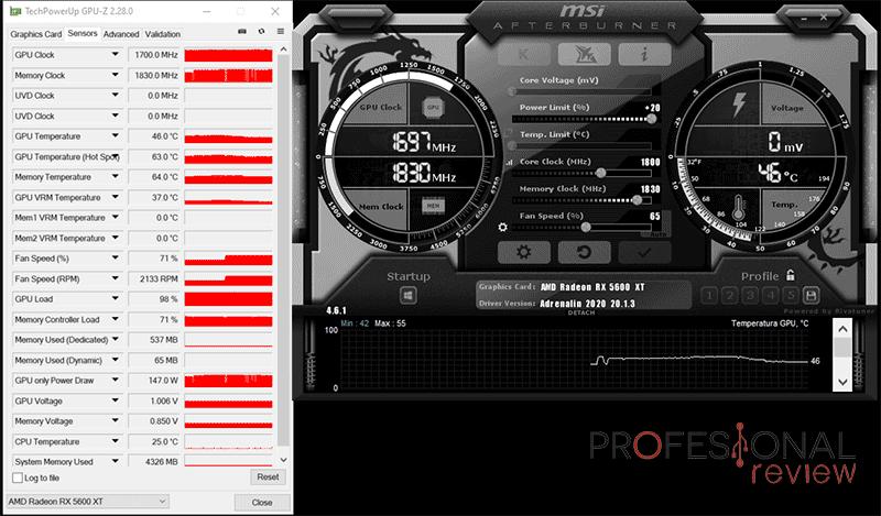 MSI RX 5600 XT Gaming X Overclocking