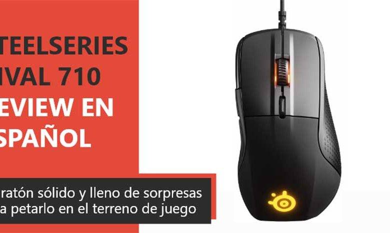 Photo of SteelSeries Rival 710 Review en Español (Análisis completo)