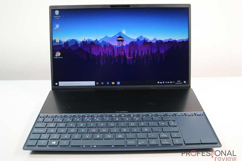 Asus ZenBook Duo Pantalla