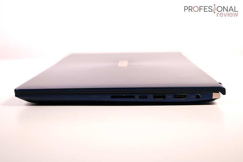 Asus ZenBook 15 UX534FTC Puertos
