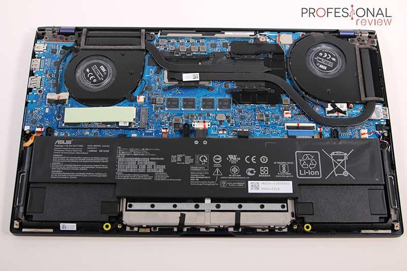 Asus ZenBook 15 UX534FTC Hardware