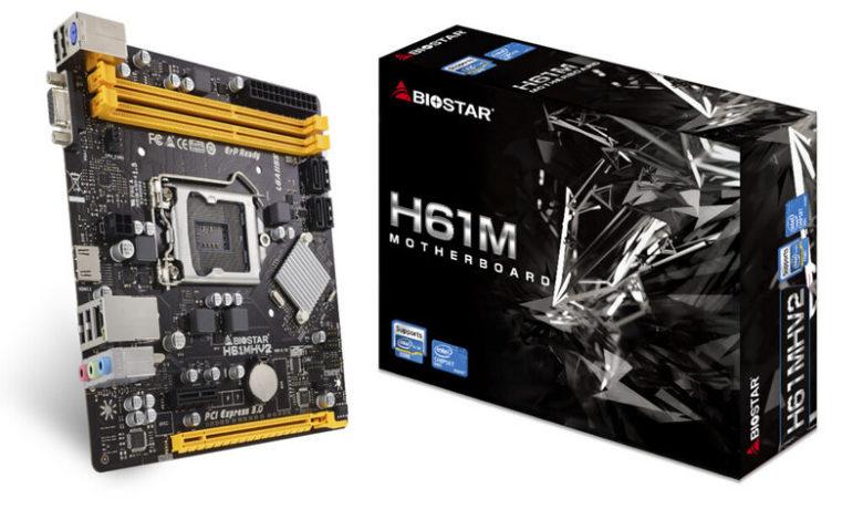Photo of BIOSTAR H61, Se relanza esta placa base con socket LGA1155