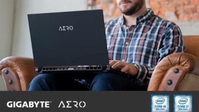 Photo of GIGABYTE presenta su serie de portátiles AERO