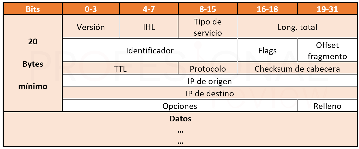 Cabecera IPv4