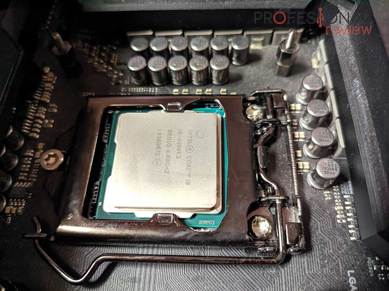 Intel Core i9-9900KS Montaje