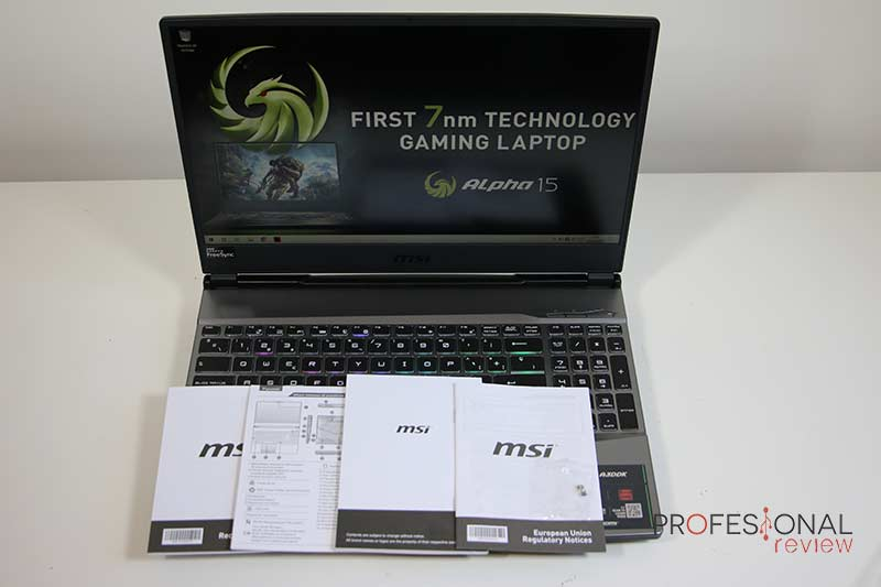 MSI Alpha 15 Review