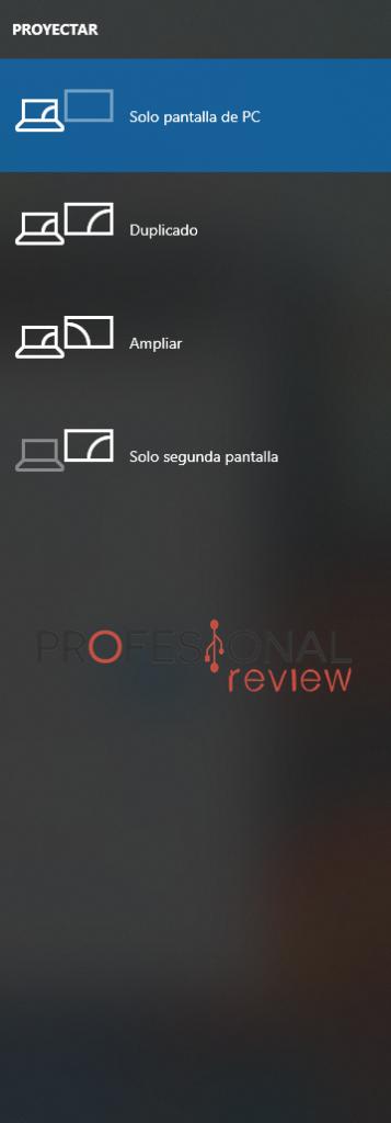 Proyectar conectar pantalla