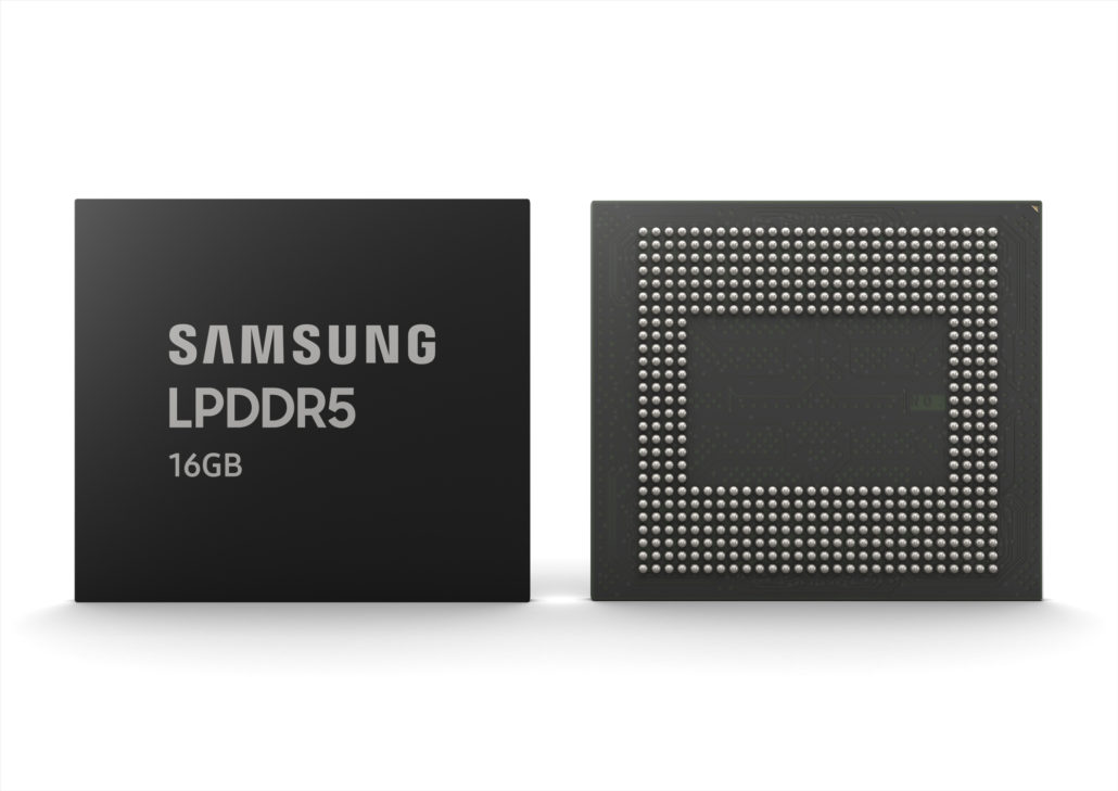 RAM Samsung LPDDR5