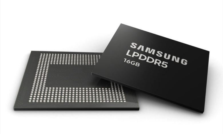Photo of RAM Samsung LPDDR5 16 GB: los coreanos inician la producción para teléfonos Premium