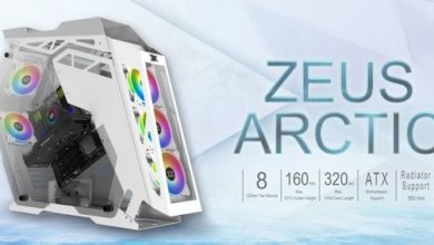 Photo of Xigmatek Zeus Arctic, Una espectacular caja para PC de diseño abierto