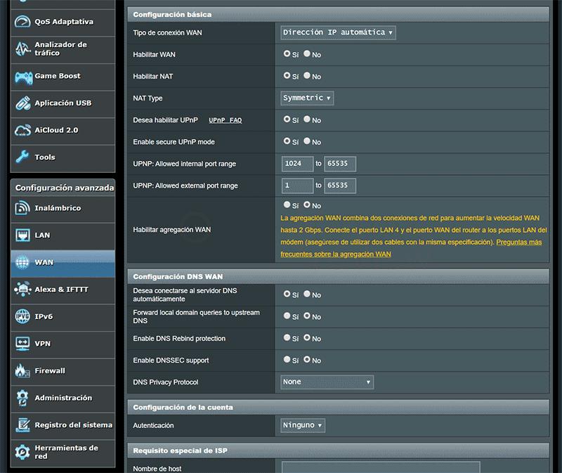 Abrir puertos del router paso05