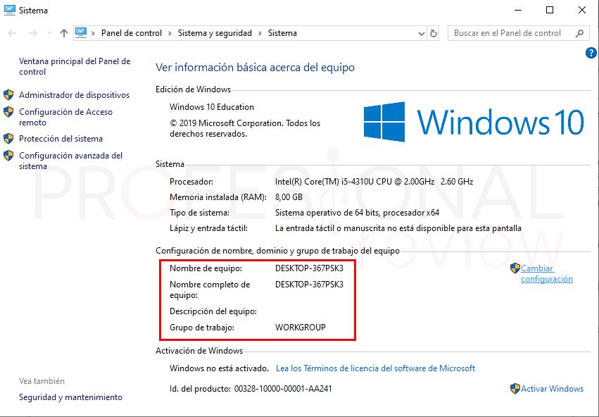 Conectar dos ordenadores en red por WiFi paso03