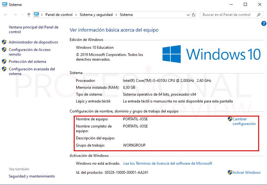 Conectar dos ordenadores en red por WiFi paso04