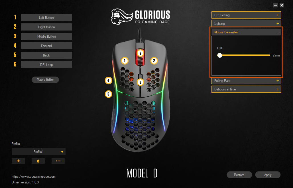 Glorious PC Gaming Race Model D