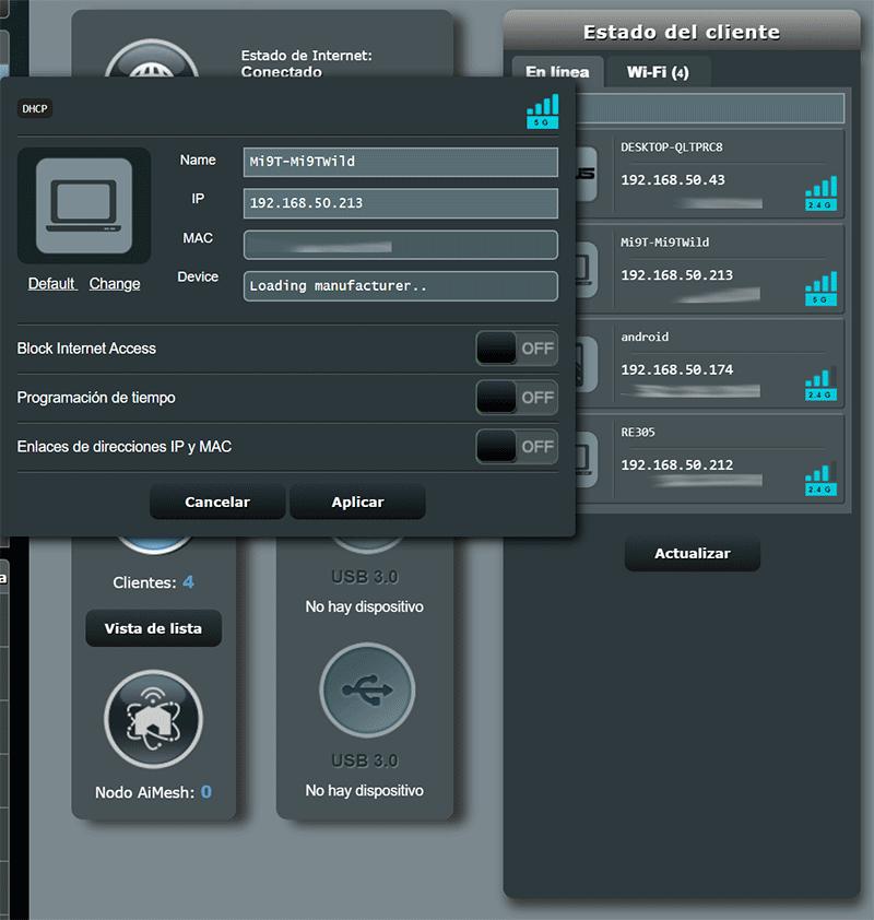 Saber quién está conectado a mi Router paso11