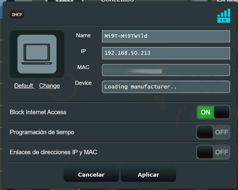 Saber quién está conectado a mi Router paso12