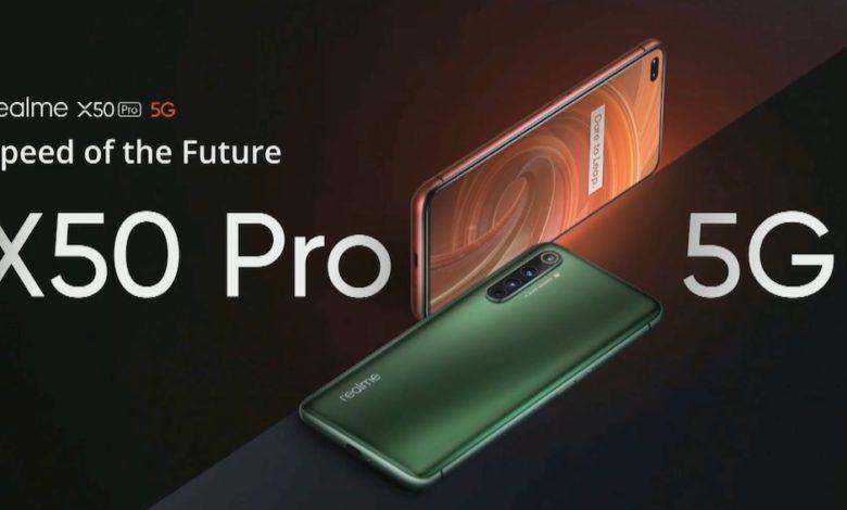 Photo of realme X50 Pro 5G: El gama alta de la marca es oficial