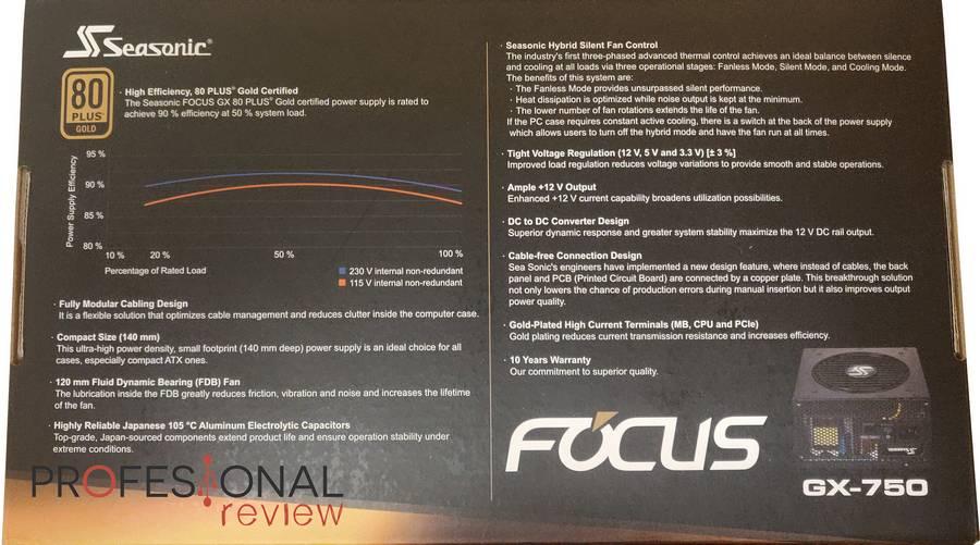Seasonic Focus GX 750W
