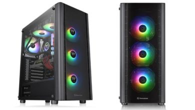 Photo of Thermaltake V250 TG ARGB, Torre clásica con 3+1 ventiladores ARGB