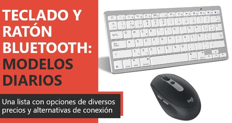 Photo of Teclado y ratón Bluetooth: modelos recomendados para el día a día