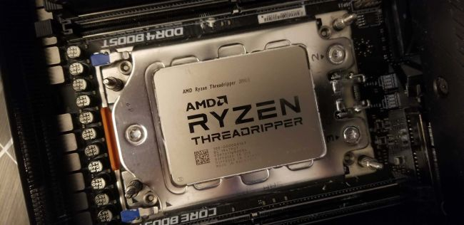 Photo of AMD Threadripper 3990X, El rendimiento en SPEC aumentó en un 200%