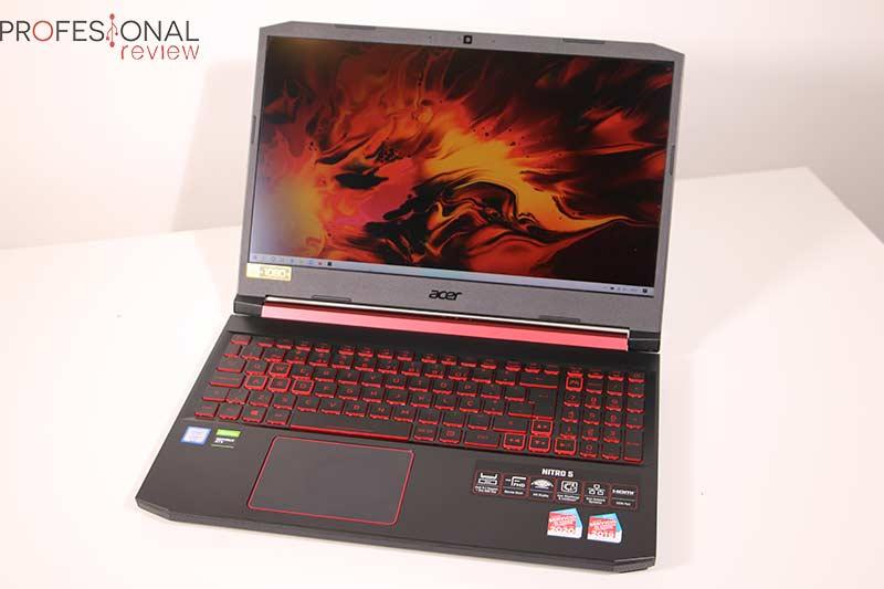 Acer Nitro 5 Calibración