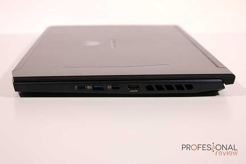 Acer Predator Helios 300 Puertos