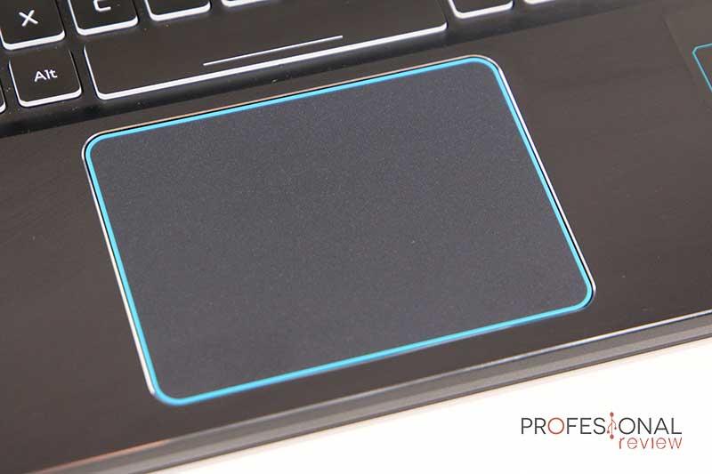 Acer Predator Helios 300 touchpad