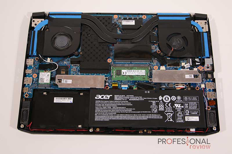 Acer Predator Helios 300 hardware