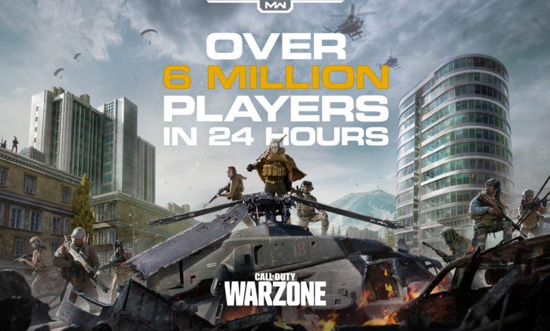 Photo of Call of Duty Warzone: llega a los 6 millones de jugadores en 24 horas
