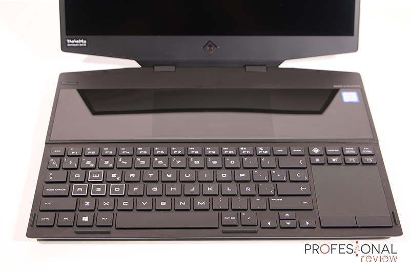HP OMEN X 2S teclado