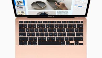 Photo of MacBook Air 2020 incorpora los procesadores Intel Core 'Comet Lake'