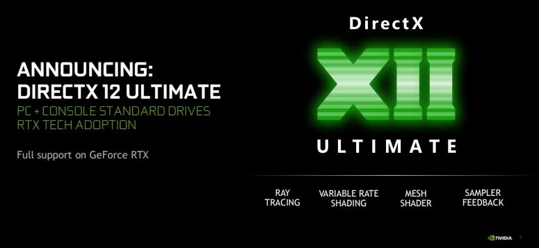 Nvidia directx 12 ultimate