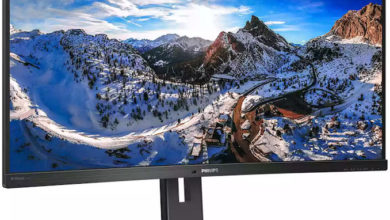 Photo of Philips 346P1CRH es un monitor 1440p con conexión USB-C