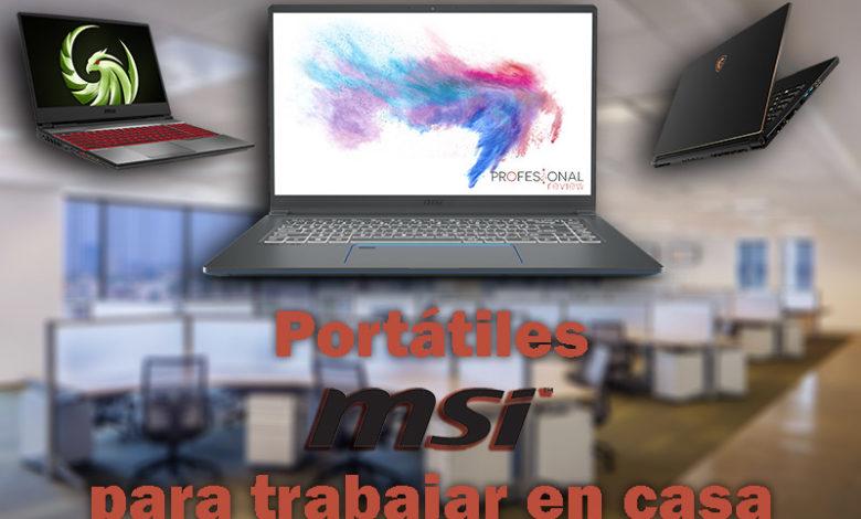 Photo of Portátil para trabajar en casa: consejos y claves