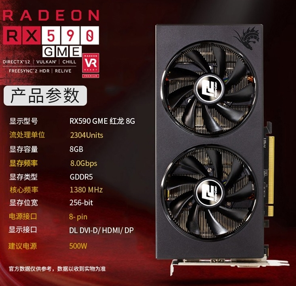 Radeon RX 590 china