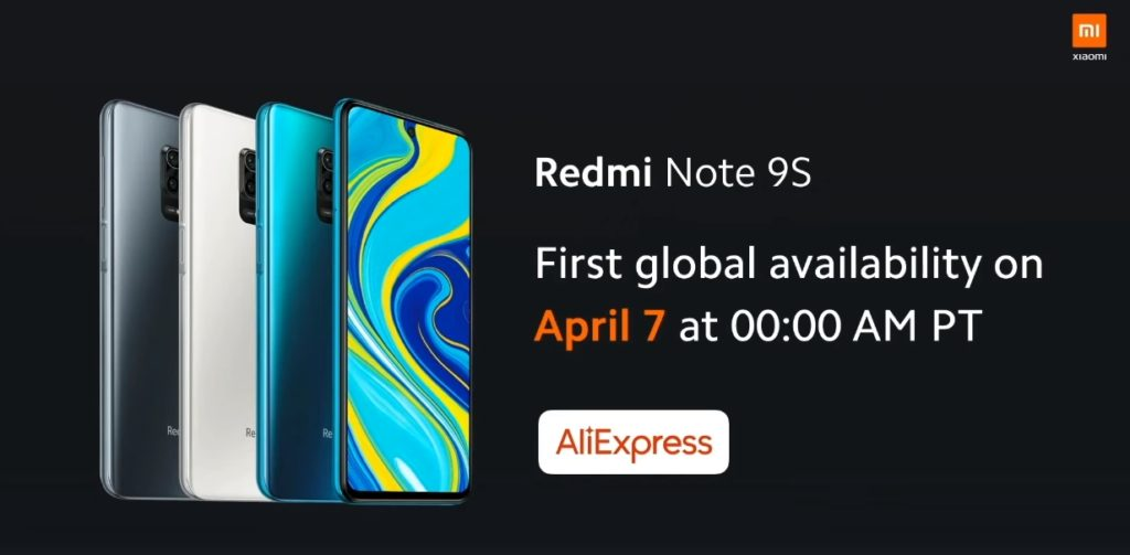 Redmi Note 9S fecha