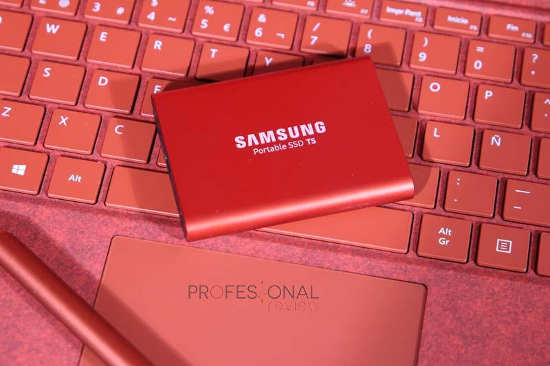 Samsung Portable SSD T5 análisis