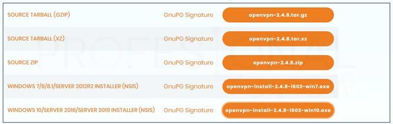 Crear VPN con OpenVPN en Windows paso01