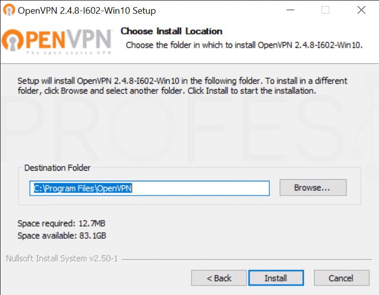 Crear VPN con OpenVPN en Windows paso05