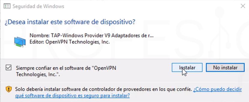 Crear VPN con OpenVPN en Windows paso06