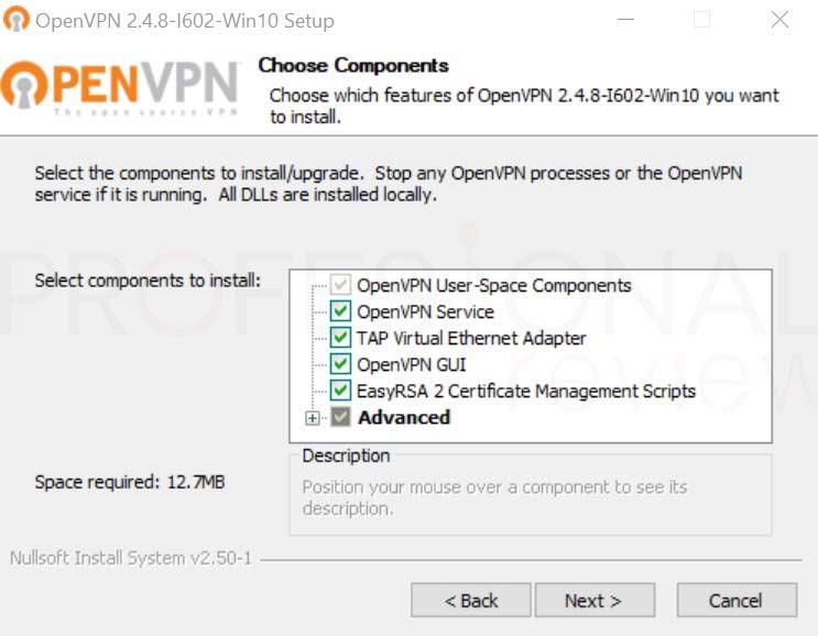 Crear VPN con OpenVPN en Windows paso32