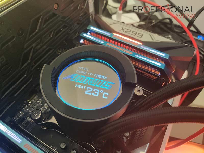 AORUS Liquid Cooler 240 Pantalla