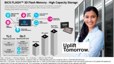 Photo of Toshiba Memory cambia su nombre a KIOXIA