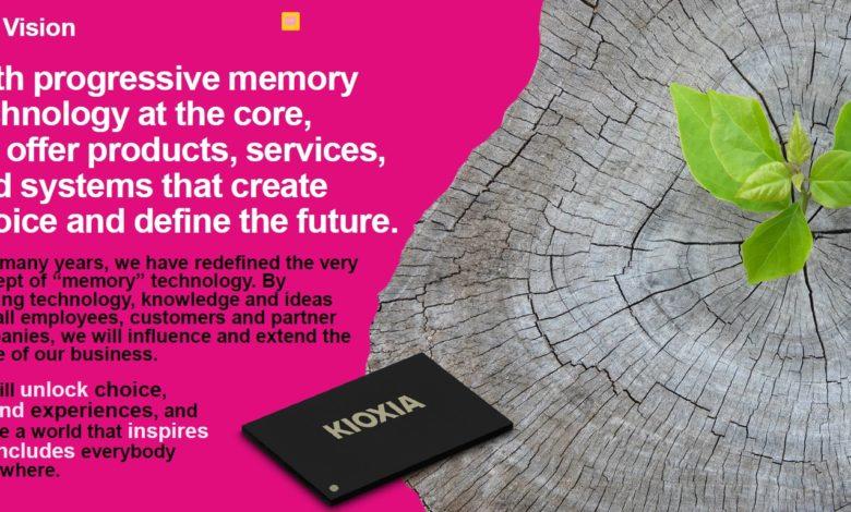 Photo of KIOXIA Corporation anuncia el lanzamiento de sus productos en Europa